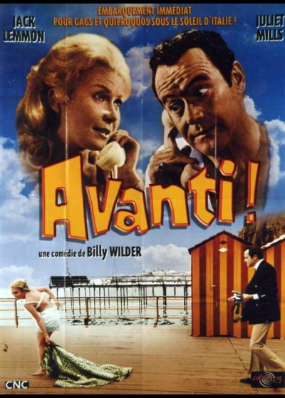 affiche du film AVANTI