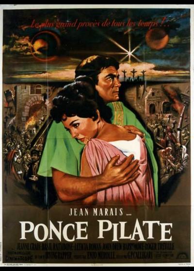 PONZIO PILATO / PONTIUS PILATE movie poster