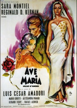 affiche du film AVE MARIA PECHE D'AMOUR / MAGDALENA
