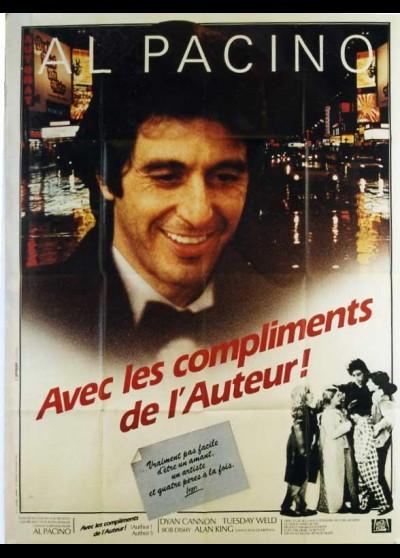 affiche du film AVEC LES COMPLIMENTS DE L'AUTEUR