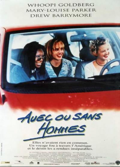 affiche du film AVEC OU SANS HOMMES
