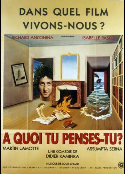 A QUOI TU PENSES TU movie poster