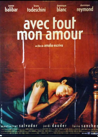 affiche du film AVEC TOUT MON AMOUR