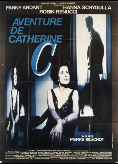 affiche du film AVENTURE DE CATHERINE C (L')