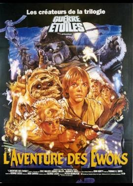 affiche du film AVENTURE DES EWOKS (L')