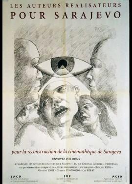 affiche du film AUTEURS REALISATEURS POUR SARAJEVO (LES)