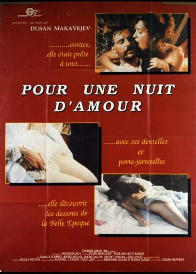 A NIGHT OF LOVE / MANIFESTO movie poster