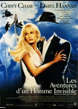 affiche du film AVENTURES D'UN HOMME INVISIBLE (LES)