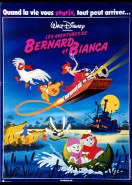 affiche du film AVENTURES DE BERNARD ET BIANCA (LES)