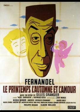 affiche du film PRINTEMPS L'AUTOMNE ET L'AMOUR (LE)