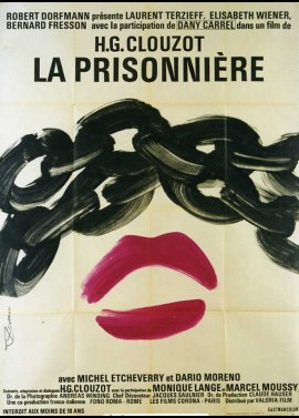 PRISONNIERE (LA) movie poster