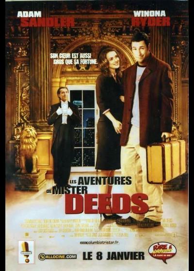affiche du film AVENTURES DE MISTER DEEDS (LES)