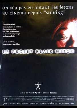 BLAIR WITCH PROJECT (THE) movie poster