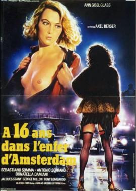 affiche du film A SEIZE ANS DANS L'ENFER D'AMSTERDAM