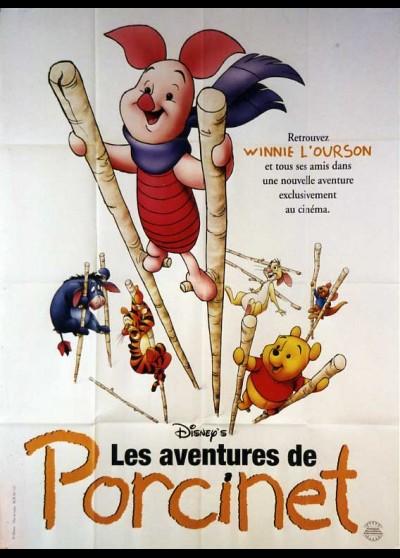 affiche du film AVENTURES DE PORCINET (LES)