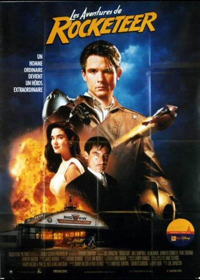 ROCKETEER (THE) movie poster