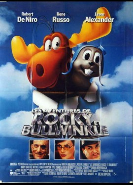 ADVENTURES OF ROCKY AND BULLWINKLE (THE) movie poster