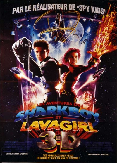 AVENTURES OF SHARKBOY AND LAVAGIRL 3 D (THE) movie poster
