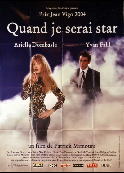 QUAND JE SERAI STAR movie poster
