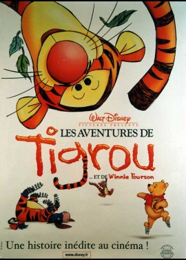 TIGGER MOVIE (THE) movie poster