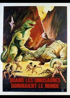 WHEN DINOSAURS RULED THE EARTH movie poster