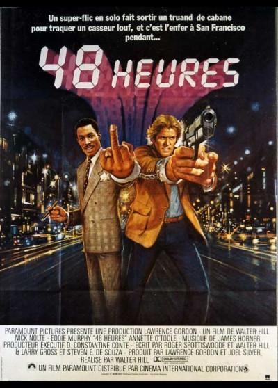 affiche du film QUARANTE HUIT HEURES