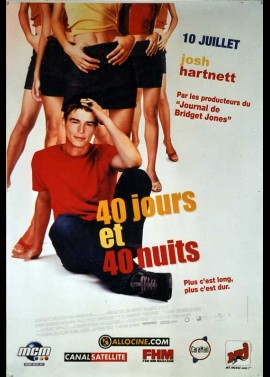 40 DAYS AND 40 NIGHTS / FORTY DAYS AND FORTY NIGHTS movie poster