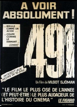 491 movie poster