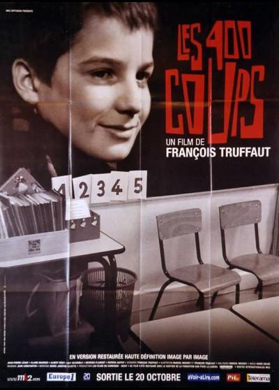 QUATRE CENTS COUPS (LES) movie poster
