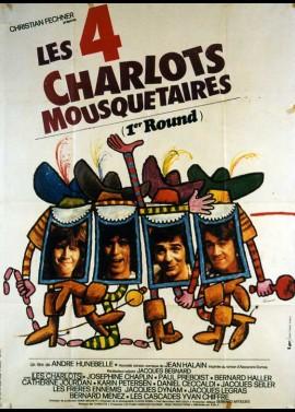 affiche du film QUATRE CHARLOTS MOUSQUETAIRES (LES)