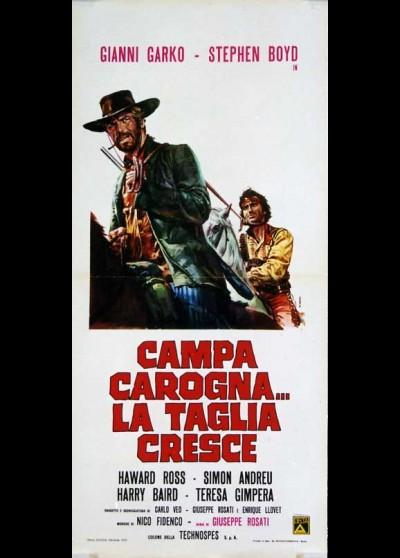 CAMPA CAROGNA LA TAGLIA CRESCE movie poster
