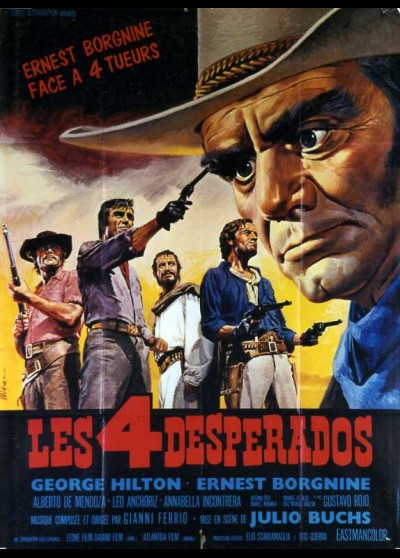 DESPERADOS (LOS) movie poster