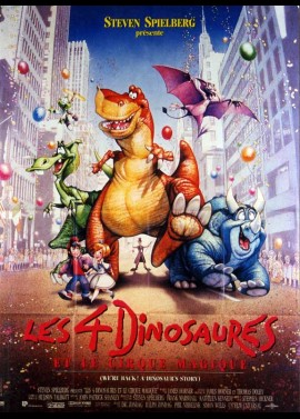 WE'RE BACK A DINOSAUR'S STORY movie poster