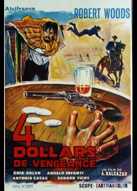 CUATRO DOLARES DE VENGANZA / FOUR DOLLARS FOR VENGEANCE movie poster
