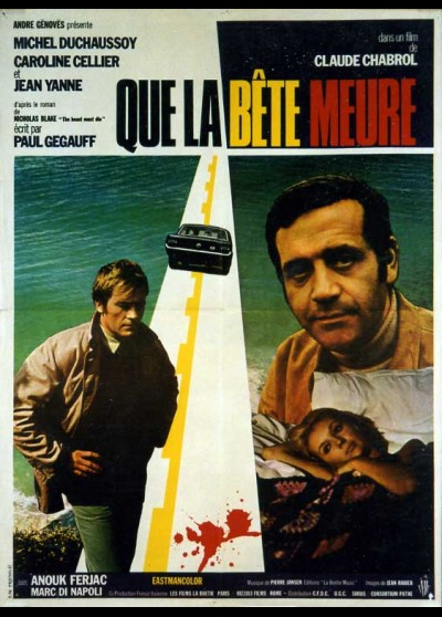 QUE LA BETE MEURE movie poster