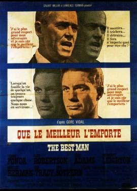 affiche du film QUE LE MEILLEUR L'EMPORTE