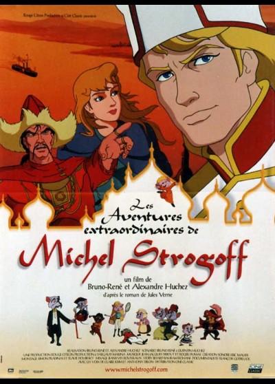 affiche du film AVENTURES EXTRAORDINAIRES DE MICHEL STROGOFF (LES)