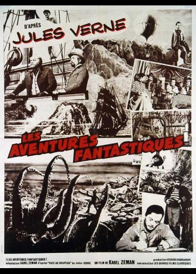 affiche du film AVENTURES FANTASTIQUES (LES)