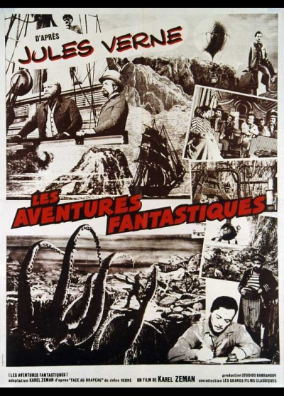 VYNALEZ SKAZY / THE FABULOUS WORLD OF JULES VERNE movie poster