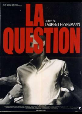 affiche du film QUESTION (LA)
