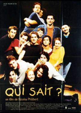QUI SAIT movie poster