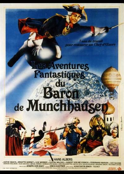 affiche du film AVENTURES FANTASTIQUES DU BARON DE MUNCHAUSEN (LES)