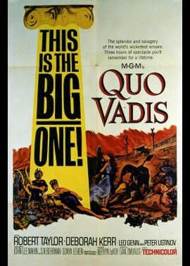 QUO VADIS movie poster