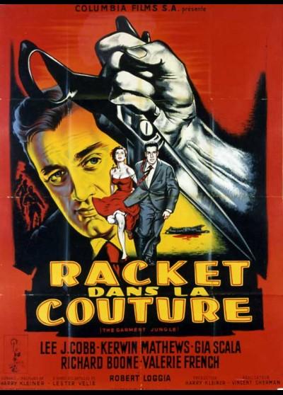 affiche du film RACKET DANS LA COUTURE