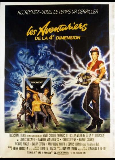 affiche du film AVENTURIERS DE LA QUATRIEME DIMENSION (LES)