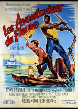 ADVENTURES OF HUCKLBERRY FINN (THE) movie poster