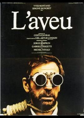 affiche du film AVEU (L')