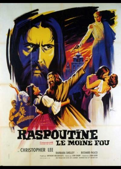 RASPUTIN THE MAD MONK movie poster