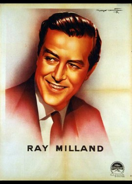 RAY MILLAND movie poster