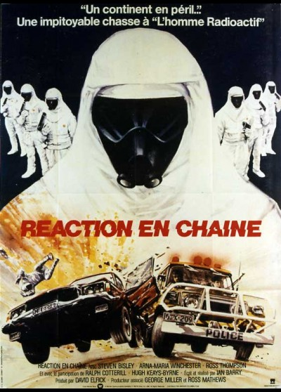 CHAIN REACTION (THE) movie poster